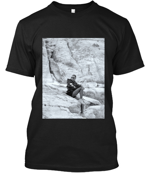 Jones Retreat Mood T Shirt Black T-Shirt Front