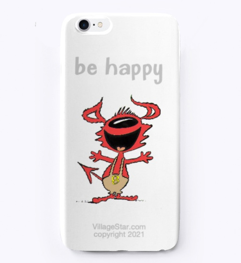 Iphone Cover Featuring Bub Standard T-Shirt Front