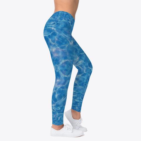 Water Camo Leggings Standard T-Shirt Right