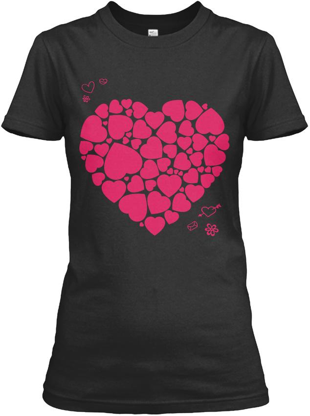 Cute Valentines Day Dresses Gildan Women S Tee T Shirt Ebay
