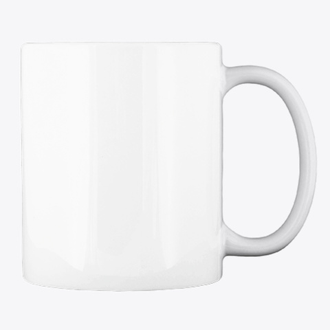Logo Mug   White White T-Shirt Back