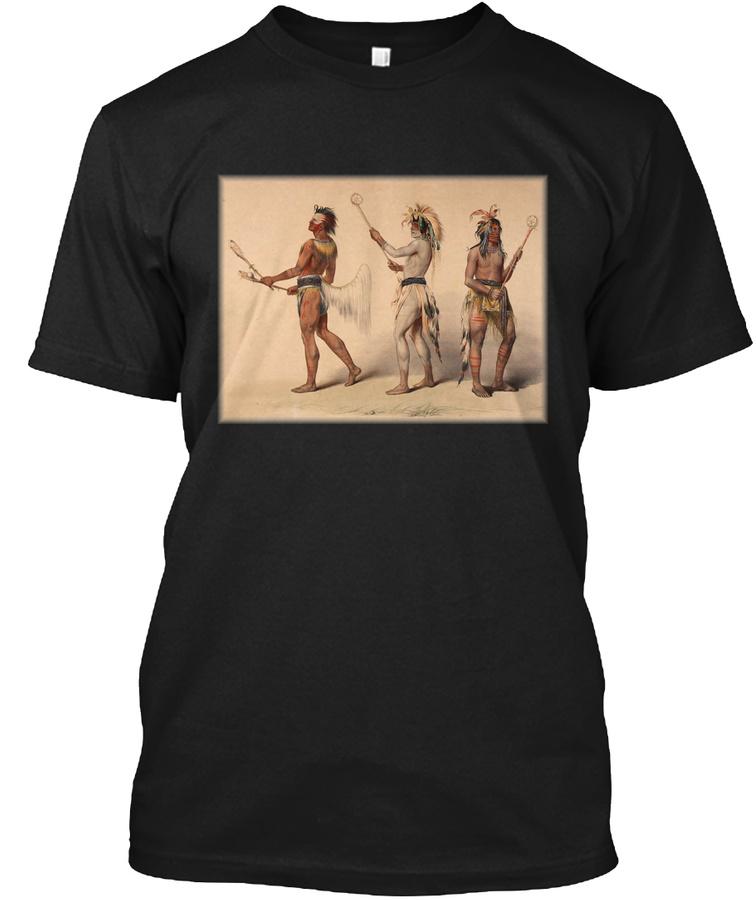 Lacrosse Native American Indian Iroquois Unisex Tshirt