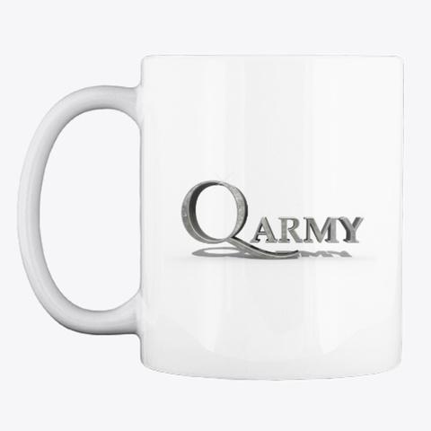 Q Army Mug White Mug Front
