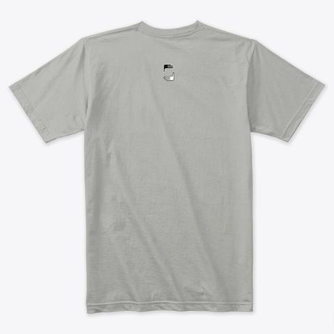 Give Back Hope  Light Grey T-Shirt Back