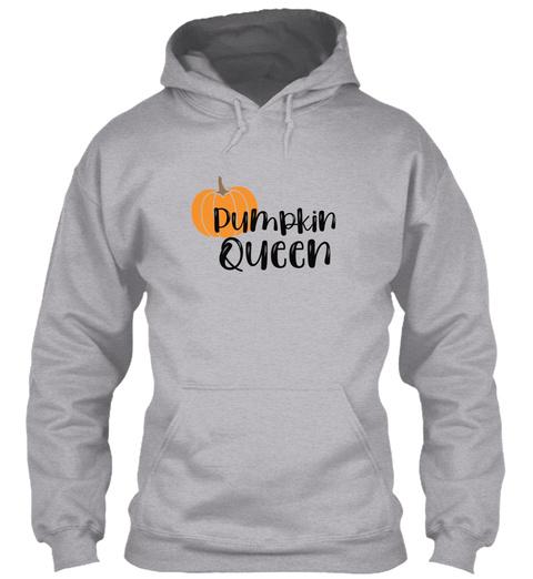 Pumpkin Queen! Sport Grey T-Shirt Front