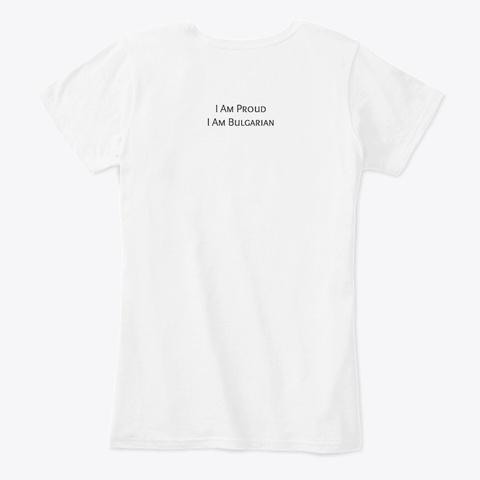Shevica Shirt White T-Shirt Back