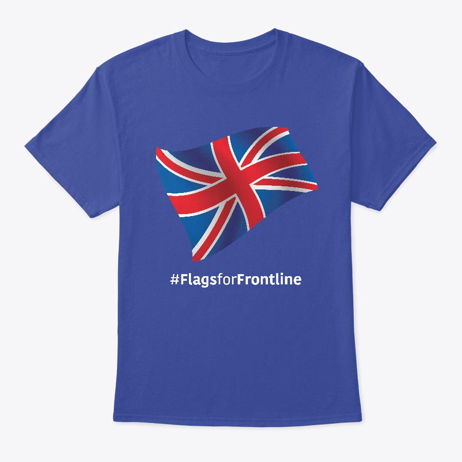 Uk Flags For Frontline Unisex Tshirt
