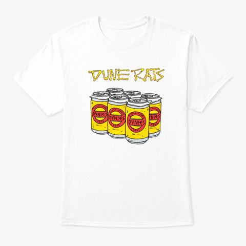 Dune Rats Shirt White T-Shirt Front
