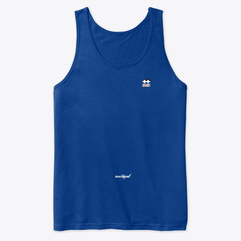 Simple But Official True Royal Tank Top Front