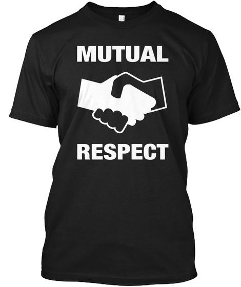 Black Lives Matter All Lives Matter Respect T-Shirt