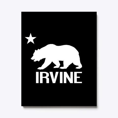 Irvine And California Bear Black T-Shirt Front