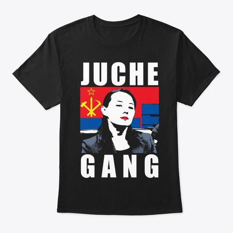 Juche Gang Black T-Shirt Front