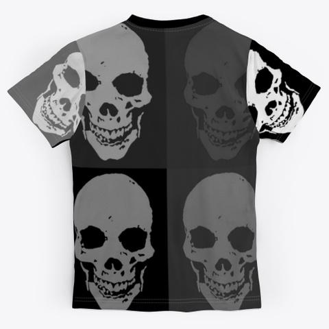 Retro 90's Skulls | Halloween Design  Standard T-Shirt Back