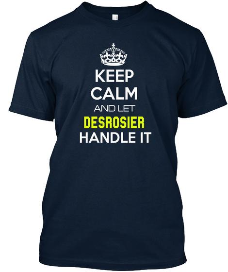 Desrosier New Navy T-Shirt Front