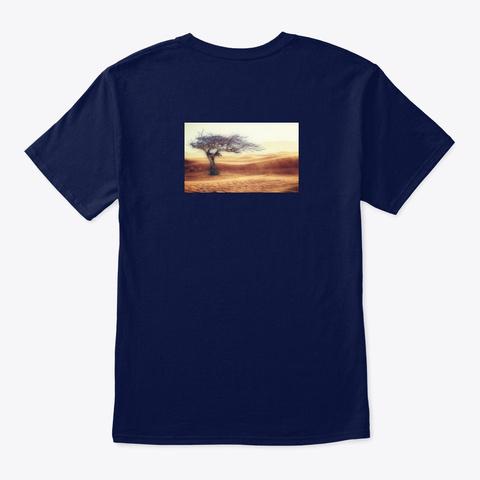 The T Shirt Everyone Should Be Wearing ! Navy T-Shirt Back