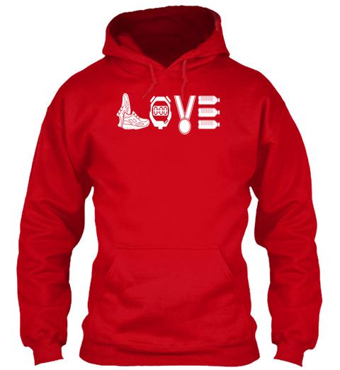 Love Red Sweatshirt Front
