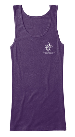 Kym Grosso's Immortals Of New Orleans Purple Women's Tank Top Front
