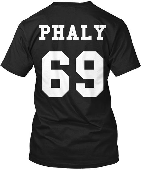 Phaly 69 Phaly 69 Black T-Shirt Back