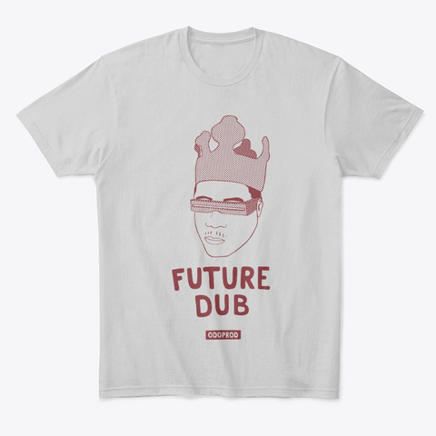 Future Dub #3 Light Heather Grey  T-Shirt Front