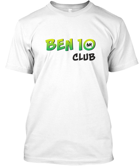 Been 10 Club White T-Shirt Front