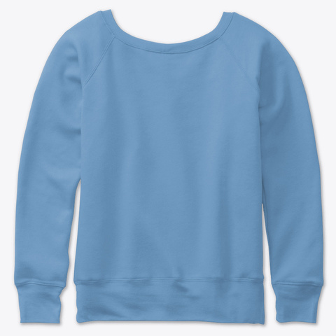Keto Buzz Dragons Den Blue Triblend  Sweatshirt Back