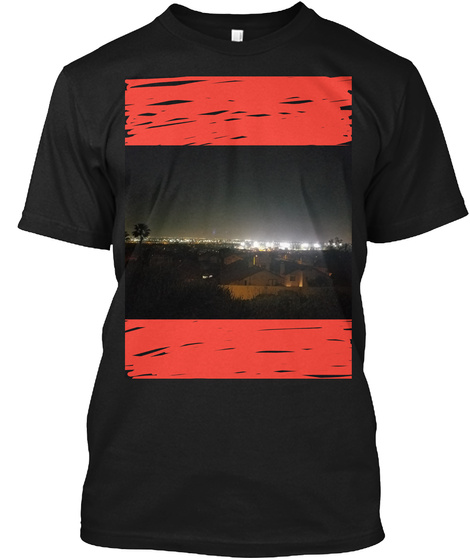 Lil Drip Q Shirt  Black T-Shirt Front