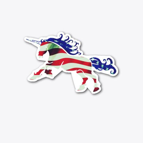 American Unicorn Standard T-Shirt Front