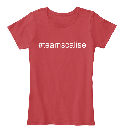 #Teamscalise Classic Red Women's T-Shirt Front