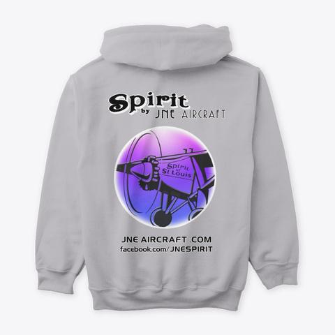 Spirit By Jne (Violet/Blue) Sport Grey T-Shirt Back