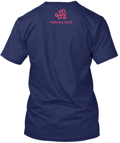 Work Harder Midnight Navy T-Shirt Back