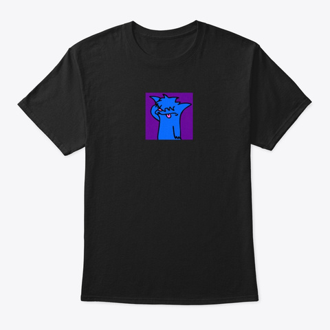 Sir Isaac Black T-Shirt Front