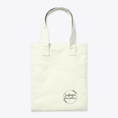 Butterfly Flight Tote Natural T-Shirt Back
