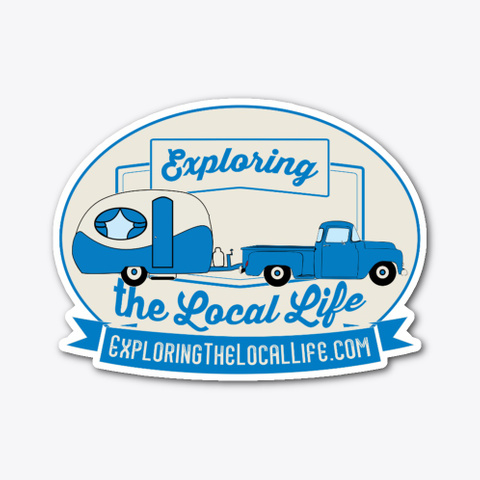Exploring The Local Life Standard T-Shirt Front
