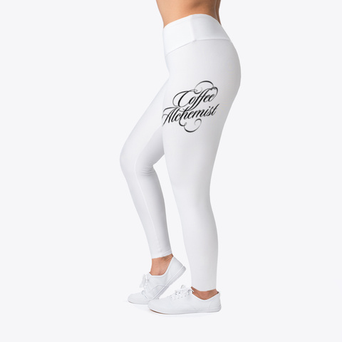 Coffee Alchemist Coffee Dolphin Leggings Standard T-Shirt Left