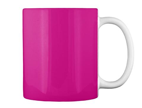 Coffee Helps Me Save Lives!!  Magenta Mug Back
