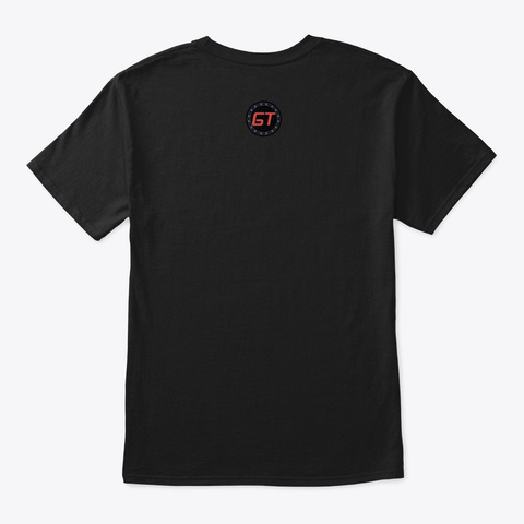 Club Dirty Fresh Release Black T-Shirt Back