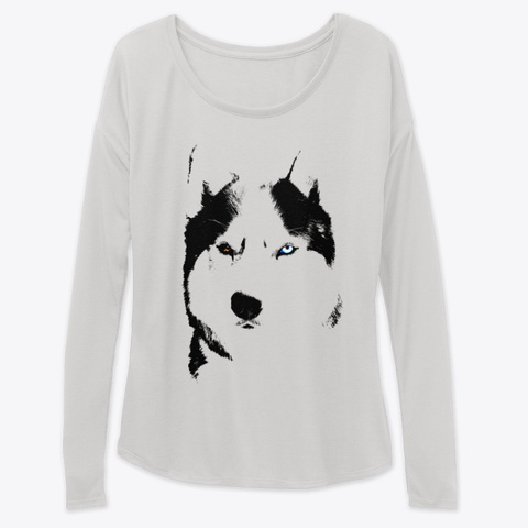 Husky Shirts And Hoodies Athletic Heather T-Shirt Front