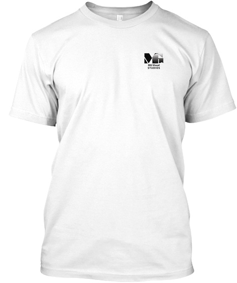 Inspire White T-Shirt Front