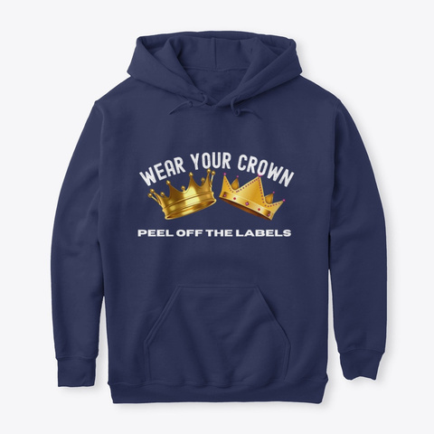 Where Your Crown Navy T-Shirt Front