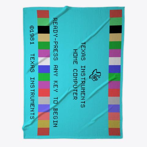 Master Title Screen Fleece Blanket Standard T-Shirt Front