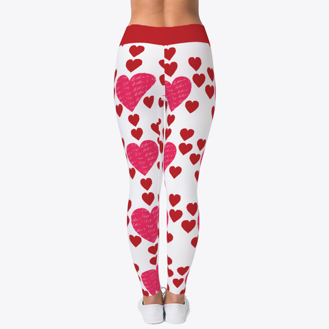 Mother's Day Loves Leggings Standard T-Shirt Back