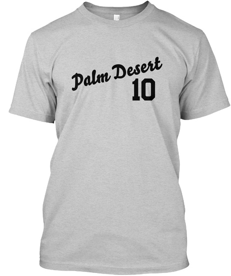 Palm Desert Varsity Legend Light Steel T-Shirt Front