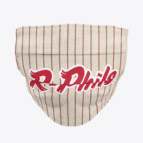 R Phils Pinstripe Facemask Standard Camiseta Front
