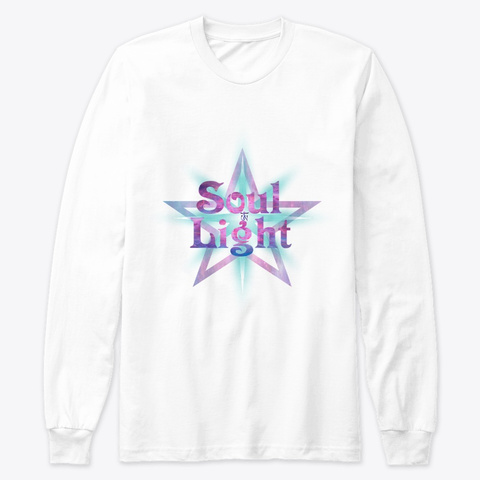 Soul Light White T-Shirt Front