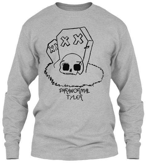 Paranormal Tyler Sport Grey T-Shirt Front