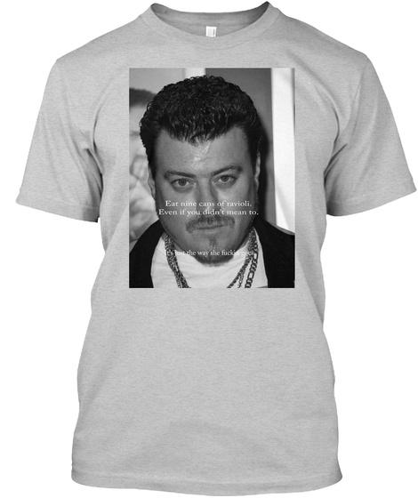 Ricky Ravioli  Light Steel T-Shirt Front