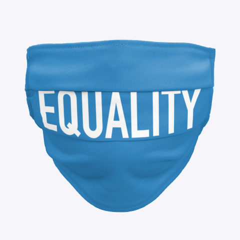 Equality   Equal Rights Denim Blue T-Shirt Front