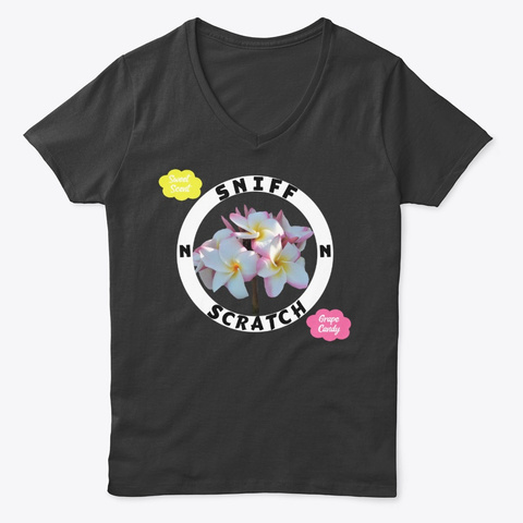 Sniff N Scratch Black T-Shirt Front