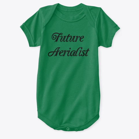 Future Aerialist Clothes For Kids Kelly T-Shirt Front