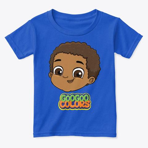 Goo Goo Gaga Toddler Tee Royal  T-Shirt Front